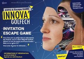 ESCAPE GAME ROBOTIQUE #Valence d'Agen @ Espace découverte EDF Golfech