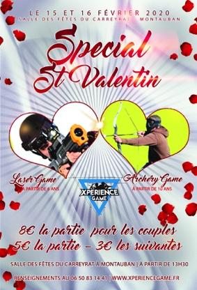 EVENEMENT XPERIENCE GAME - SPECIAL ST VALENTIN #Montauban @ salle des fêtes du Carreyrat