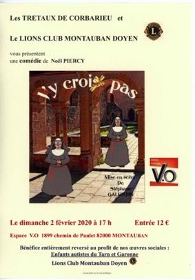 J'Y CROIS PAS #Montauban @ Espace Culturel V.O
