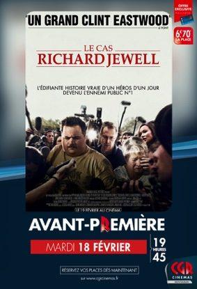 LE CAS RICHARD JEWELL - EN AVANT-PREMIÈRE #Montauban @ CGR MONTAUBAN