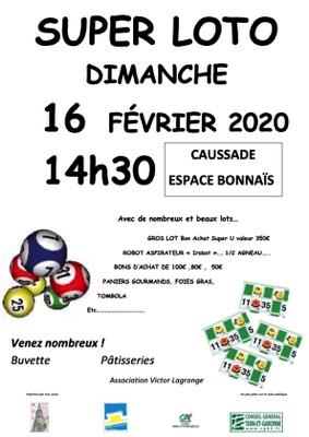 LOTO #Caussade @ Espace Bonnaïs