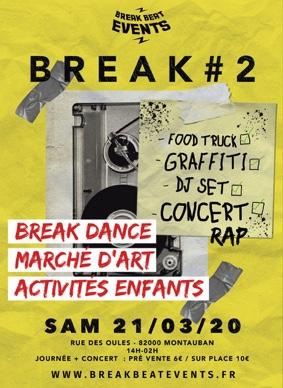 MICRO FESTIVAL BREAK #2 #Montauban @ Hangar des Oules