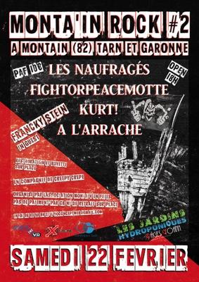 MONTA'IN ROCK #2 #Montaïn @ Salle des fêtes