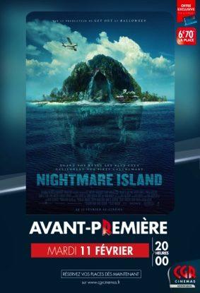 NIGHTMARE ISLAND - EN AVANT-PREMIÈRE #Montauban @ CGR MONTAUBAN
