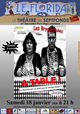 PIÈCE DE THÉÂTRE #Septfonds @ Théâtre Le Florida Septfonds