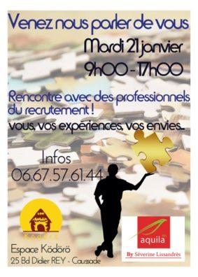 RENCONTRE EMPLOI #Caussade @ Espace Kodoro