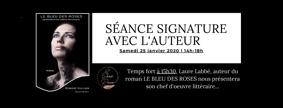 SÉANCE SIGNATURE AVEC L'AUTEUR LE BLEU DES ROSES #Montauban @ LE SHOWROOM