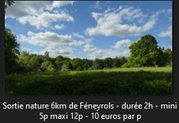 SORTIE NATURE GÉOLOGIE- FLORE-ÉCOLOGIE DE TERRAIN AUTOUR DE FÉNEYROLS #Féneyrols @ Horloge de Féneyrols