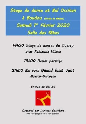 STAGE DE DANSES ET BAL OCCITAN #Boudou @ Salle des fêtes