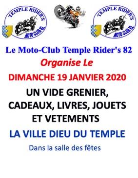 VIDE GRENIER VETEMENTS, LIVRES, JOUETS.... #La Ville-Dieu-du-Temple @ salle des fêtes