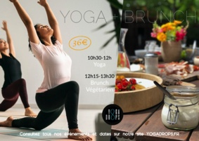 YOGA BRUNCH #Montbartier @ Yoga Drops