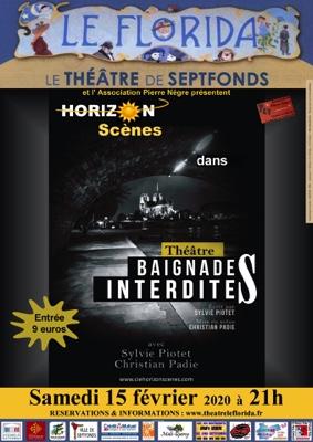 BAIGNADES INTERDITES #Septfonds @ Théâtre Le Florida