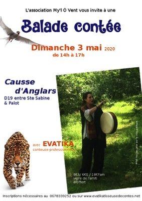 """BALADE CONTÉE """"DANS LA LUMIÈRE DE BETANE"""" #Saint-Antonin-Noble-Val @ Causse d'Anglars"""