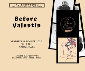 BEFORE VALENTIN / APÉRO FILLES #Montauban @ Le Showroom