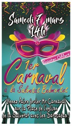 CARNAVAL #La Salvetat-Belmontet @ Place de l'église