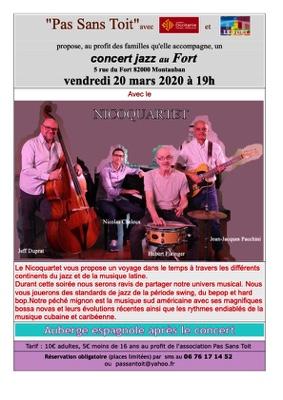 CONCERT DE JAZZ #Montauban @ LE FORT