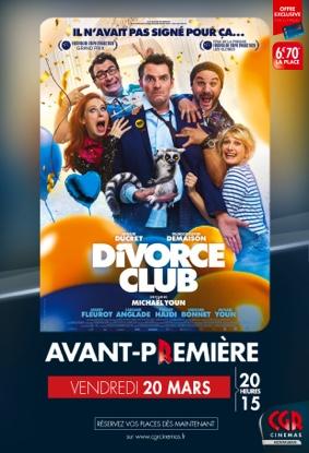 DIVORCE CLUB - EN AVANT-PREMIÈRE #Montauban @ CGR MONTAUBAN