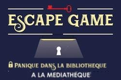 ESCAPE GAME #L'Honor-de-Cos @ Médiathèque