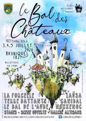 LE BAL DES CHÂTEAUX #Bruniquel @ Châteaux de Bruniquel