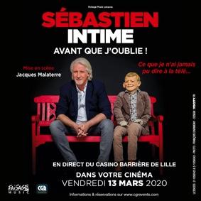 LE NOUVEAU SPECTACLE DE PATRICK SÉBASTIEN EN DIRECT #Beaumont-de-Lomagne @ Cinéma Les Nouveaux Bleus