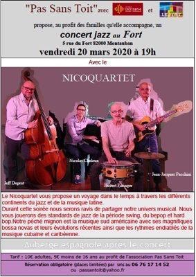 NICOQUARTET #Montauban @ LE FORT