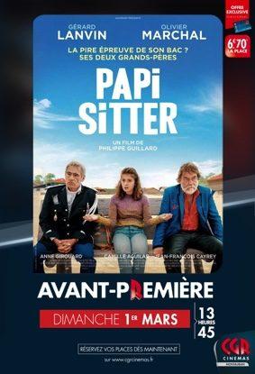 PAPI-SITTER - EN AVANT-PREMIÈRE #Montauban @ CGR Montauban