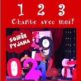 SOIRÉE PYJAMA AVEC MARYK - 1 2 3 CHANTE AVEC MOI #Montauban @ Théâtre de l'Embellie
