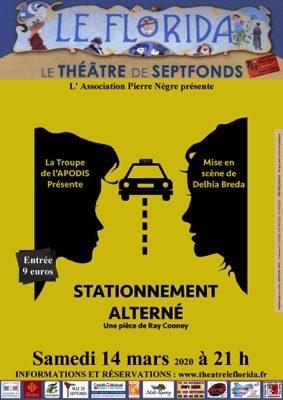 THÉÂTRE STATIONNEMENT ALTERNÉ #Septfonds @ Théâtre Le Florida