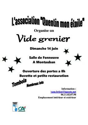VIDE GRENIER #Montauban @ salle des fêtes de Fonneuve