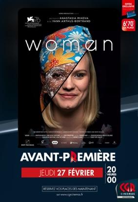 WOMAN - EN AVANT-PREMIÈRE #Montauban @ CGR MONTAUBAN