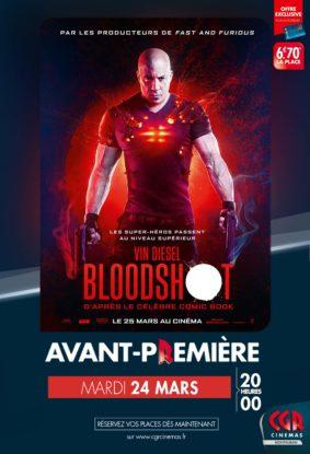 BLOODSHOT EN AVANT-PREMIÈRE #Montauban @ CGR MONTAUBAN