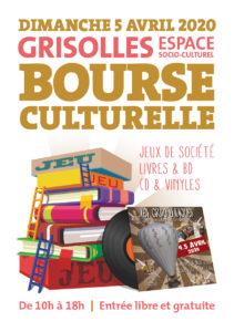 BOURSE CULTURELLE #Grisolles @ Espace socioculturel