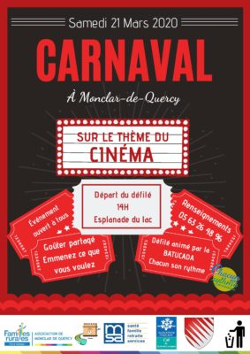 CARNAVAL #Monclar-de-Quercy @ salle polyvalente