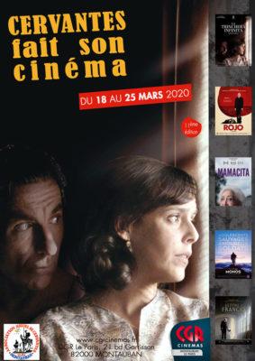 CERVANTES FAIT SON CINÉMA - SEMAINE HISPANIQUE #Montauban @ Cinéma CGR Le Paris