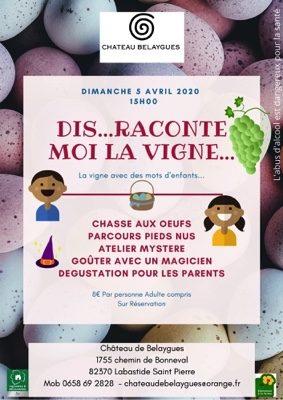 DIS RACONTE MOI LA VIGNE... #Labastide-Saint-Pierre @ Chateau de Belaygues