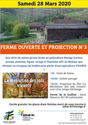 FERME OUVERTE EN POLYCULTURE ÉLEVAGE ET PROJECTION #Lafrançaise @ Ferme de la Guillote