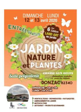 JARDIN NATURE ET PLANTES #Donzac @ Salle polyvalente