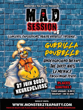 M.A.D SESSION #6 // GUEST: GUERILLA POUBELLE #Nègrepelisse @ Monsterz Tea Party