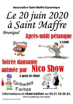 PETANQUE & FETE #Bruniquel @ Saint-Maffre