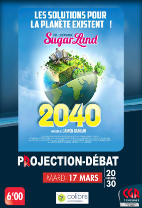 PROJECTION & DÉBAT 2040 #Montauban @ Cinéma CGR Le Paris