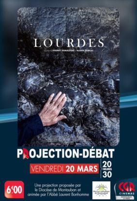 PROJECTION & DÉBAT LOURDES #Montauban @ Cinéma CGR Le Paris