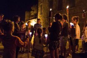 RONDE DE NUIT AUX FLAMBEAUX #Lauzerte @ Cité médiévale de Lauzerte