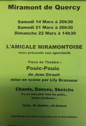 THÉÂTRE #Miramont-de-Quercy @ Salle des fêtes