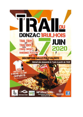 TRAIL #Donzac @ Salle polyvalente