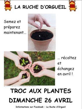 TROC AUX PLANTES #Orgueil @ parc La Nauzette