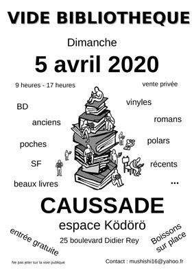 VIDE BIBLIOTHÈQUE #Caussade @ Espace Ködörö