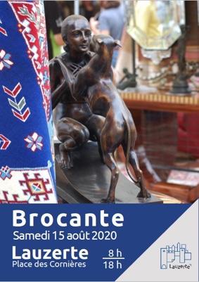 BROCANTE DU 15 AOÛT #Lauzerte