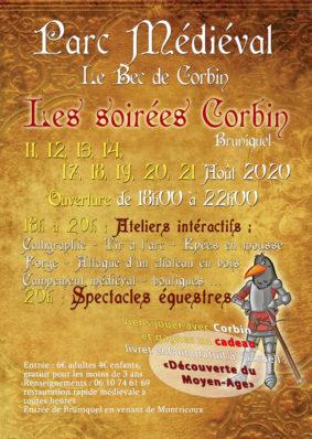 LES SOIRÉES CORBIN #Bruniquel @ Parc Médiéval Le Bec de Corbin
