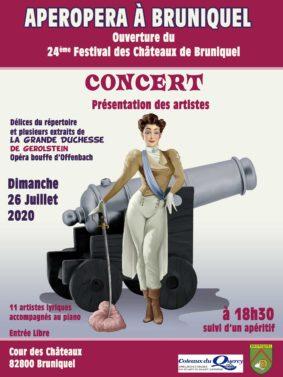 APÉROPÉRA #Caussade @ Cour des Châteaux