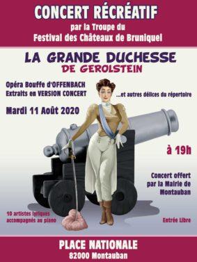 CONCERT RÉCRÉATIF #Montauban @ Place Nationale